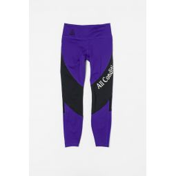 ACG Tights in Violet/White/Black