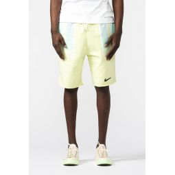 Pigalle Fleece Shorts in Luminous Green