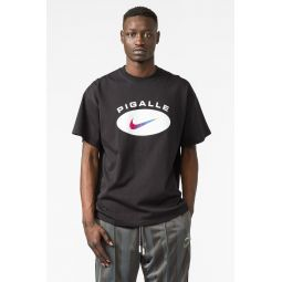 Pigalle T-Shirt in Black/Platinum