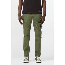 312WA Cargo Pants in Khaki Green