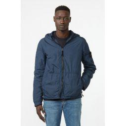 43330 Garment Dyed Crinkle Jacket in Navy