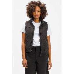 Multi Function Vest in Black