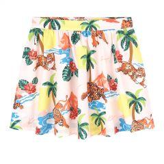Printed poplin skirt - Hawai Kenzo