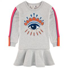 Dress with embroidered Eye - Edition exclusive