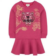 Embroidered Tiger sweatshirt dress - Chinese new year