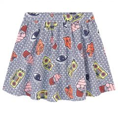 Flared skirt - Food Fiesta