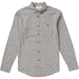 All Day Jacquard Long-Sleeve Shirt - Mens