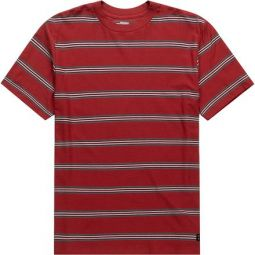 Die Cut Stripe Crew Shirt - Mens