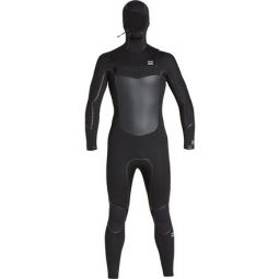 5/4mm Furnace Absolute X Chest-Zip Hooded Wetsuit - Mens
