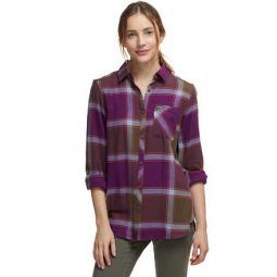 Simply Put II Flannel Shirt - Womens