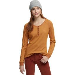 Times Two Knit Henley Shirt - Womens