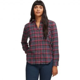 Maggie Midweight Flannel Long-Sleeve Shirt - Womens