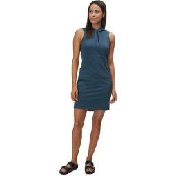 Bayocean Sleeveless Hooded Dress - Womens