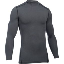 ColdGear Armour Compression Mock-Neck Shirt - Mens