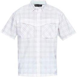 Tide Chaser Plaid Short-Sleeve Shirt - Mens