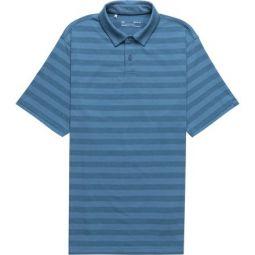 Charged Cotton Scramble Stripe Polo Shirt - Mens