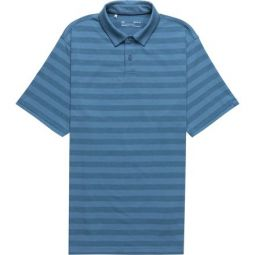 Charged Cotton Scramble Stripe Polo Shirt - Mens