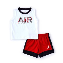Baby Boys 12-24 Months By Air Muscle Tee & Shorts Set
