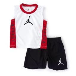 Baby Boys 12-24 Months Jordan 23 Muscle Tank & Shorts Set