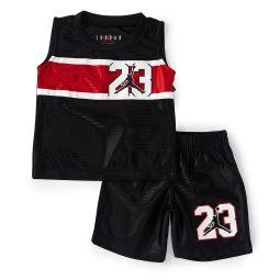 Baby Boys 12-24 Months Jordan Swish Muscle Tank & Shorts Set