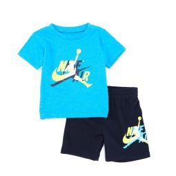 Baby Boys 12-24 Months Short-Sleeve Jumpman Classic Tee & Shorts Set