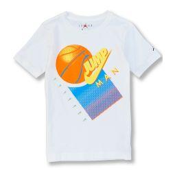 Big Boys 8-20 Short-Sleeve Jumpman Basketball Graphic Tee