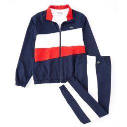 Color Block Full-Zip Track Suit