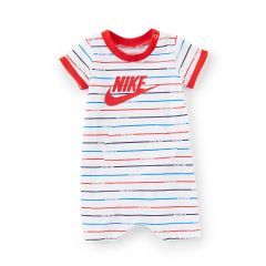 Baby Boys Newborn-9 Months Striped Jersey Romper