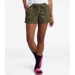 Motion Cotton Blend Twill Stretch Pull-On Shorts