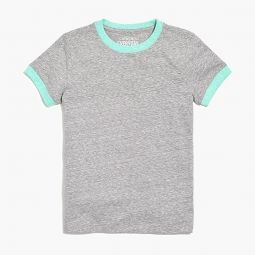 Boys contrast ringer t-shirt in supersoft jersey