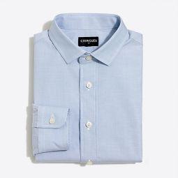 Boys long-sleeve flex Thompson shirt in end-on-end