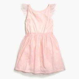 Girls tulle-skirted dress