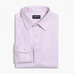 Boys long-sleeve flex Thompson patterned shirt