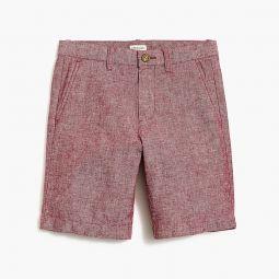 Boys Gramercy short in cotton-linen