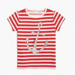 Girls anchor graphic T-shirt