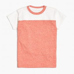 Boys football T-shirt in supersoft jersey