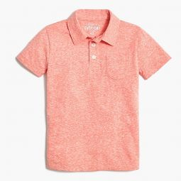 Boys polo shirt in the supersoft jersey