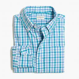 Boys long-sleeve flex washed shirt in print