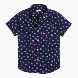Boys short-sleeve shirt in print