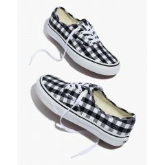 Vans Unisex Authentic Lace-Up Sneakers in Gingham Check
