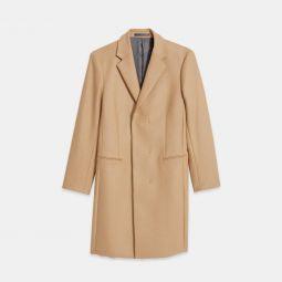 Relaxed Coat in Traceable Wool Melton