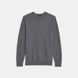 Crewneck Sweater in Pique Cotton
