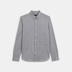 Knit Shirt in Cotton Jersey