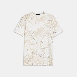 Clean Tee in Tropic Print Jersey