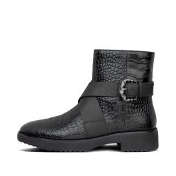 Womens Helmi Leather Boots