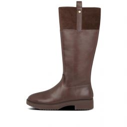 Womens Signey Suede-Leather Boots