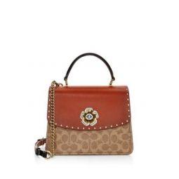Signature Parker Top Handle Bag