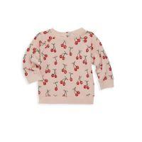 Baby Girls Cherries Sweatshirt