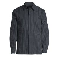 Kian Kamino Stripe Shirt Jacket