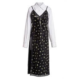 Collapsing Slip Dress